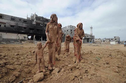sculpture gaza